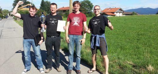 v.l. Benjamin Aldag, Ulrich Sperber, Sebastian Finsterwalder, Alexander Fischer-Brandies