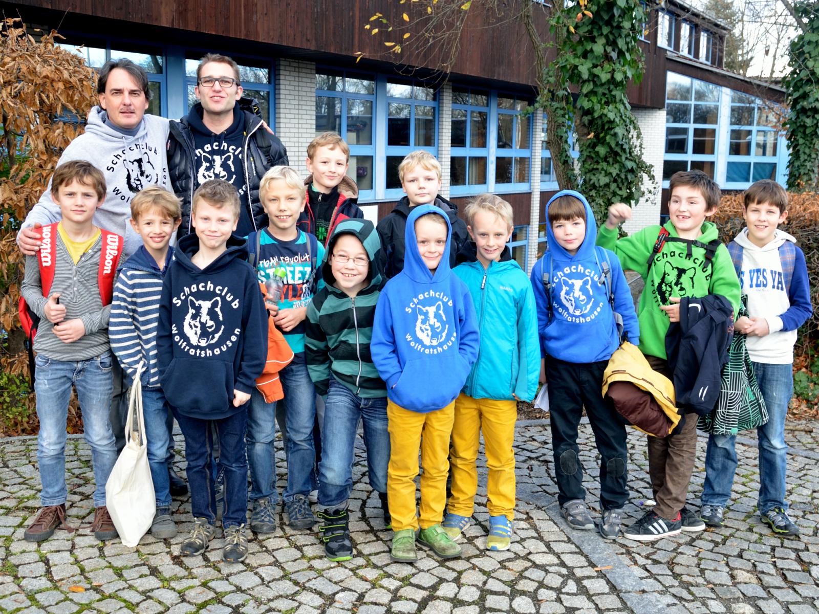 Gauting und beide Mannschaften aus Wolfratshausen